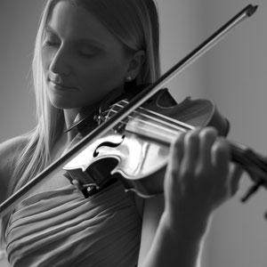 Geige Solo oder Streichduo