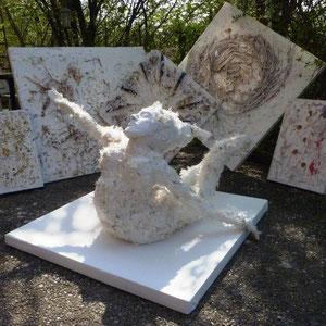 Die weiße Tara - Skulptur & Bilder der Serie