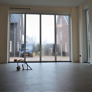 beton cire vloer keuken