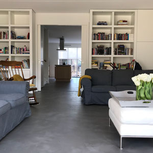 beton cire woonkamer