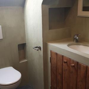 beton cire wastafel en toilet