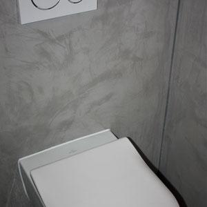 beton cire toilet