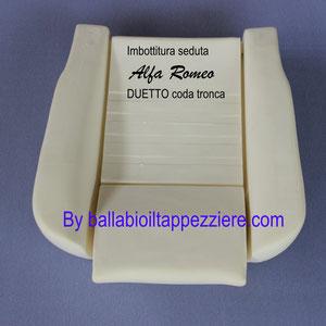imbottitura sedile alfa romeo duetto coda tronca ultima serie By ballabioiltappezziere.com