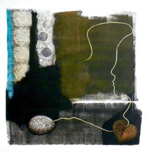 Désenchantement (AEC)/ 2016 / 60 x 60 3D