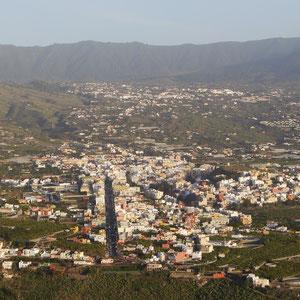 Blick auf Los Llanos