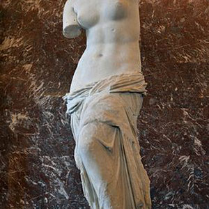 La célèbre Vénus de Milo