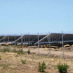 alkaSL / EST project: Stornara / Apulia  -  1 MWp JA-Solar modules & Power One inverters - installed 2011