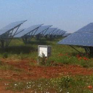 single axis Solar trackers with Sanyo Hit 235 modules