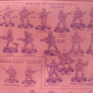 IRON CLAW SPACE PIRATES