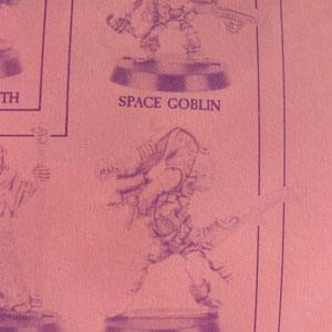 PISCEAN WARRIOR &  SPACE GOBLIN