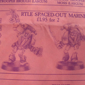 SPACE MARINES IVRES