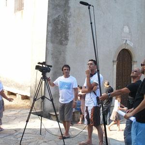 Le film a été  tourné à Poretto sur la commune de Brando
