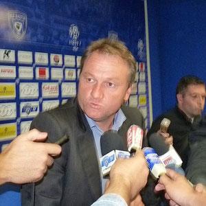 Frédéric Hantz garde sa confiance aux joueurs qui ont hissé le SCB en Ligue 1