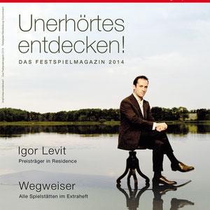 Das Magazin der Festspiele Mecklenburg-Vorpommern 2014 erscheint im neuen Look.