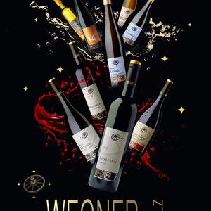 Der gute Look zum guten Schluck. Komplettes Corporate Design und Markenführung bis zu Tastings für das Weingut Wegner aus der Pfalz.