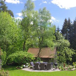 Ansicht Garten Sitzgruppe
