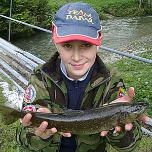 Bravo Nicholas, ora basta, lascia i pesci anche agli altri!!!