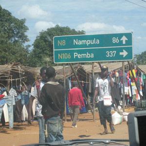モザンビーク|北部地域の町