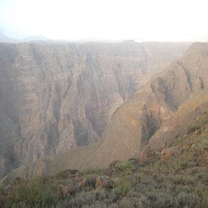 カーボヴェルデ|サンタン島の峡谷