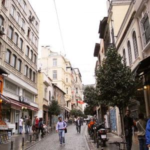Die Fußgängerzone