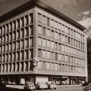 Kantonale Brandversicherungsgebäude Luzern 1955