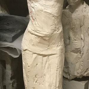 Frau stehend 1984   H.: 100cm  2