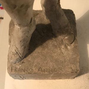 """""""Akt"""" Franco Annoni  signiert H.: 55cm  4"""