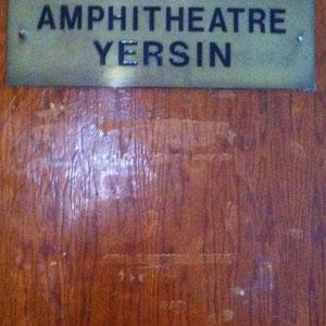 L'Amphi Yersin au Pharo