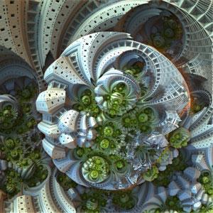 Galerie 3 (3D Fraktale) © Sven Fauth - Fraktale Kunst