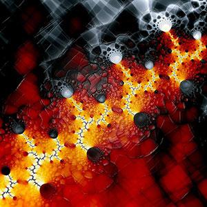 Galerie 4 (Feuer und Eis) © Sven Fauth - Fraktale Kunst