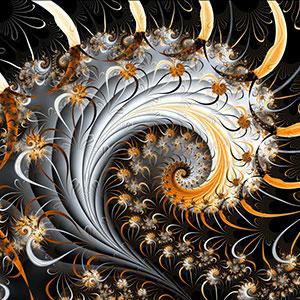 Galerie 1 (Spiralen) © Sven Fauth - Fraktale Kunst