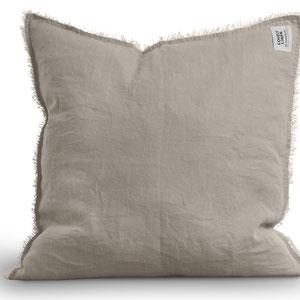 Lovely Linen: Pillow cover Beige