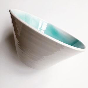 Terra Cuita Big Bowl Ceramic Turquoise