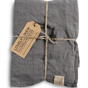 Lovely Linen: Towels Grey
