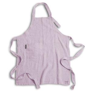 Lovely Linen, Linen apron dusty pink
