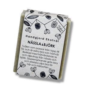 Malin i Ratan: Hand made Eco Soap from Sweden, Nässla & Björk, Nettle & Birch