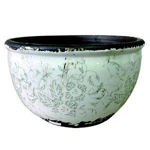 Affari of Sweden Bowl with flower pattern