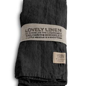 Lovely Linen: Napkins Dark Grey