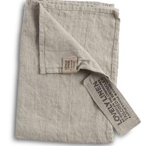Lovely Linen: Towels Natural Beige
