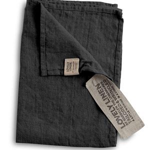 Lovely Linen: Towels Dark Grey