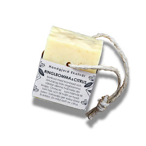 Malin i Ratan: Hand made Eco Soap from Sweden, Ringblomma & Citrus, Candula & Citrus