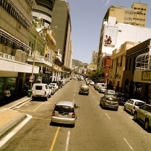 Cruising through Cape Town on the Red Line Bus