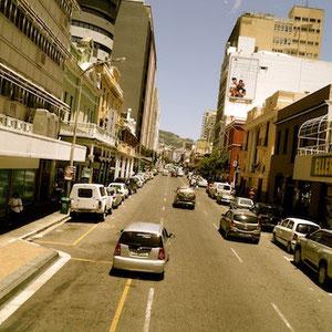 Auf dem Touri-Bus durch Cape Town