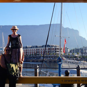 Me, my aunt and Table Mountain