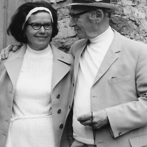 Walter Furrer 1970 mit seiner Ehefrau Margreth Furrer-Vogt