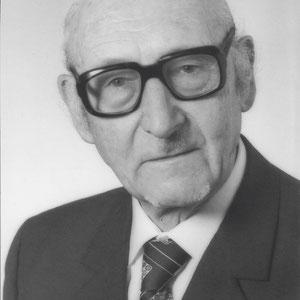 Walter Furrer ein Jahr vor seinem Tod