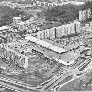 Stadtkern im Bau 60er Jahre