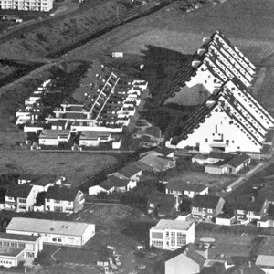 Hügelhäuser 1, 2, 3, bis Mitte der 70er Jahre