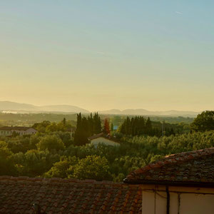 Vinci, unser erster Stopp in der Toskana