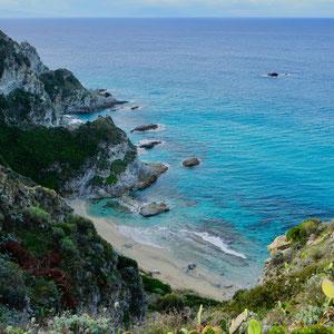 Der versteckte Praia I Focu beach